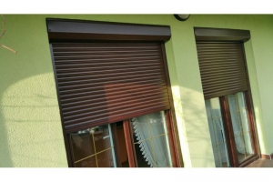 Rolety zewnętrzne - System na ramę okna